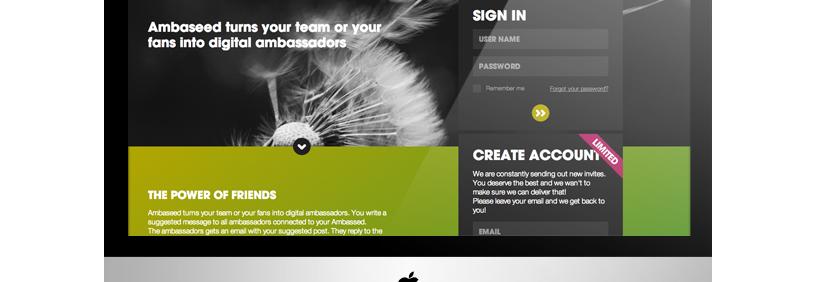 Web aplikācija – Ambaseed