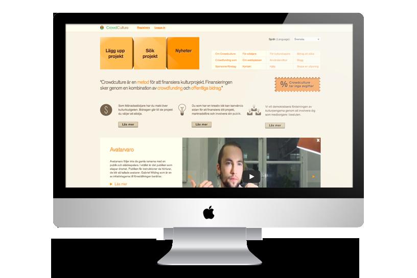 Projekt om mikrofinansiering – CrowdCulture