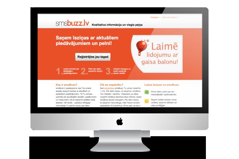 Mājas lapa – smsBuzz