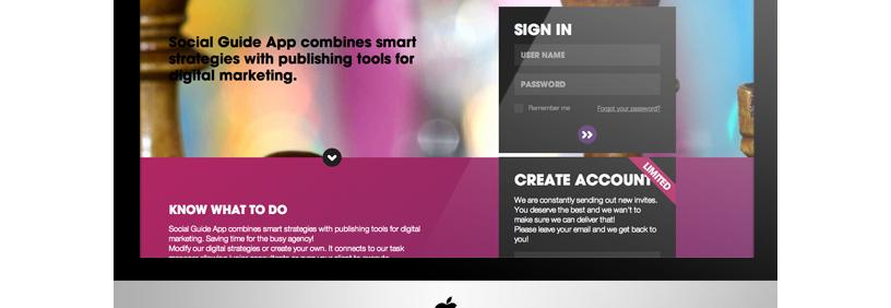 Web aplikācija – Social Guide App