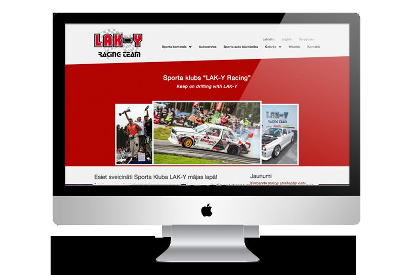 Mājas lapa – Lak-y