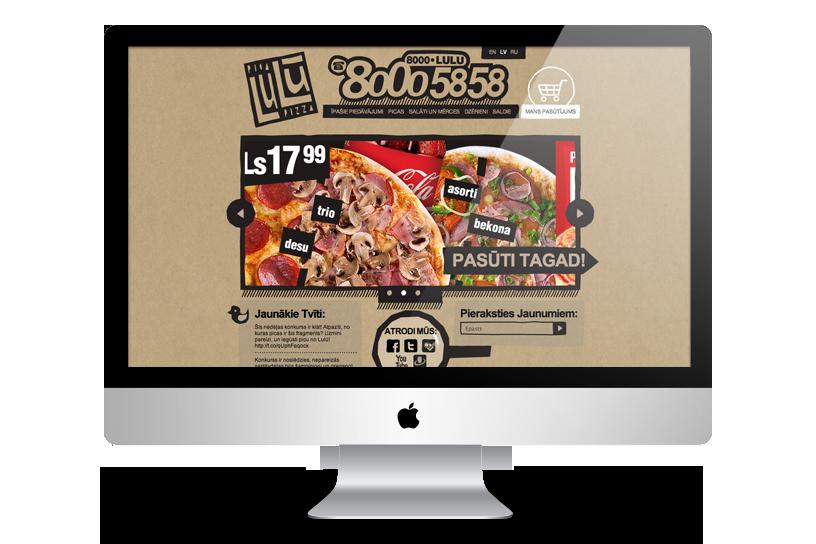 Mājas lapa – Pica Lulū