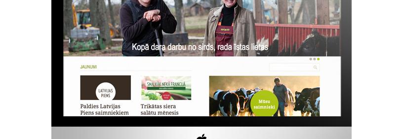 Mājas lapa – Latvijas piens