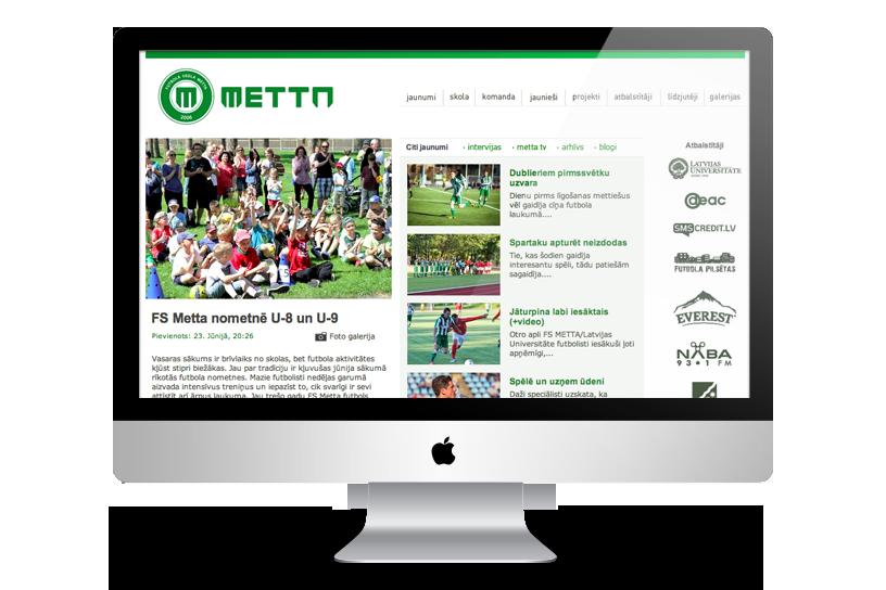 Mājas lapa – FS Metta