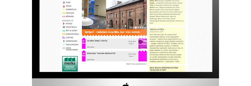 Mājas lapa – Spīķeri