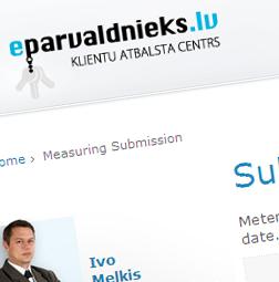 Web aplikācija – eparvaldnieks.lv