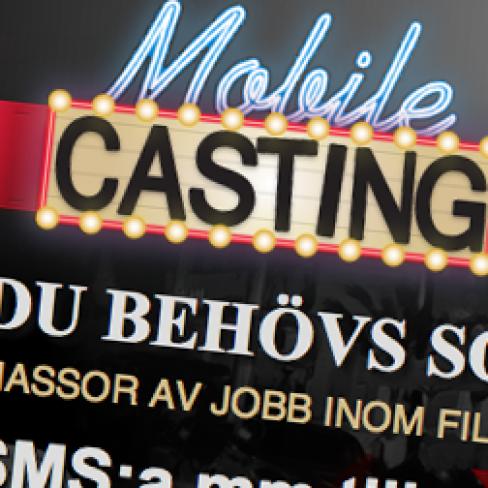 Hemsidedesign – Mobile Casting