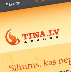 Mājas lapa – Tina