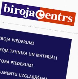 Interneta veikala izstrāde – Biroja centrs